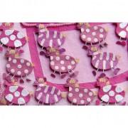 Set 15 cajitas cebras rosa