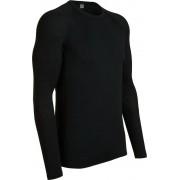 Icebreaker M's Everyday LS Crewe Black 2017 Tunna underställströjor i merino