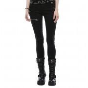Pantalon femmes PUNK RAVE - Black Star - OPK-159