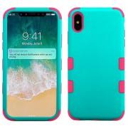 Funda Case Iphone Xs Max protector Uso Rudo Tuff - Menta