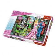 Puzzle Trefl Disney Princess In padure 200 piese