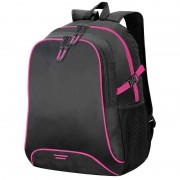 Shugon Allround rugzak/rugtas zwart/roze 44 cm
