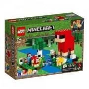 Конструктор Лего Майнкрафт - Фермата за вълна, LEGO Minecraft, 21153
