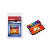 Transcend Memoria Flash Transcend, 8GB CompactFlash MLC, TS8GCF133