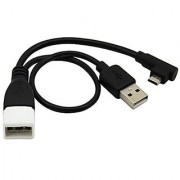 Tendak (Pack of 2) Micro USB 2.0 On-The-Go (OTG) Cord Cable Adapter for Cell Phone Tablets