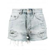 Ksubi джинсовые шорты с завышенной талией 'Tongue 'n' Cheek' Ksubi