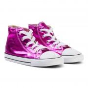 ConverseMetallic Pink Chuck Taylor All Star Hi Tops19 (UK 3)