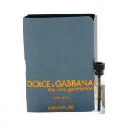 Dolce & Gabbana The One Gentlemen Vial (Sample) 0.06 oz / 1.77 mL Men's Fragrance 480426