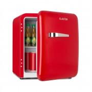 Klarstein Audrey Mini, frigider retro, 48 l, 2 nivele, A+, roșu (HEA13-Audreys-R)