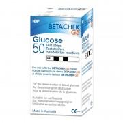 BETACHEK STRIP - Teste pentru glucometru Betachek G5 (50 buc + 1 card memorie)