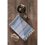 Prosop de plaja, Eponj Home, 90 x 170 cm, 336EPJ1521, bumbac, Albastru