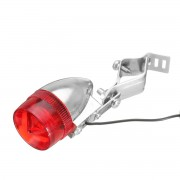 Meco 9 x2.5cm Classic Retro Bicycle Bike Rear LED Indicator Red Light Cable Holder Bracket ATV