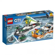 LEGO City Coast Guard Sailboat Rescue Set 60168