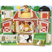 Puzzle magnetic ascunde si descopera Melissa and Doug
