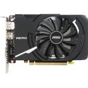 MSI Tarjeta Gráfica nVidia MSI GeForce GTX 1050 TI AERO ITX OCV1 4G GDDR5