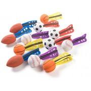 "1 Dozen 6"" Jet Sports Ball Missiles - Foam Jet Balls - Great for Party Favors"