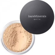 bareMinerals Face Makeup Foundation Matte SPF 15 Foundation 25 Golden Dark 6 g