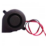 Meco 24V DC 0.1A 50mm*50mm*15mm Blow Radial Cooling Fan For 3D Printer