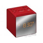 Radio deșteptător Sony ICFC1TR.CED, roșu