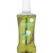 Ecodenta Sage & Aloe Vera & Mint Oil Apă de gură pentru respirație proaspătă și protecția gingiilor 480 ml