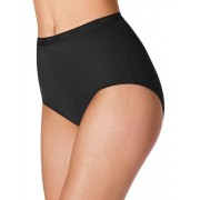 Bali womens Full-Cut-Fit Stretch Cotton Brief(2324)-Black-8