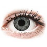 Grey Sterling contact lenses - natural effect - power - Air Optix