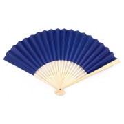 CLEARANCE SALE - Royal Blue Paper Hand Fans