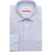 Marvelis Strijkvrij Overhemd Comfort Fit Uni Licht Blauw 44