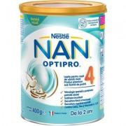 Lapte praf pentru copii de varsta mica Nan Optipro 4 de la 2 ani x 400g Nestle