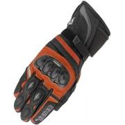 Orina Splash Motocyklové rukavice XL Černá Oranžová