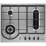 Plita incorporabila EGH6349BOX, 4 Arzatoare, Gaz, Inox