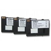 3x vhbw batterie 700mAh pour portable, fixe, téléphone Siemens Gigaset Remplace BA-510, V30145-K1310-X250, S30852-D1752-X1.