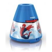Philips e Disney Spiderman Lampada da Tavolo Proiettore LED, Blu