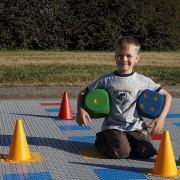 Plastová hra Člověče nezlob se, AvaTile - délka 5 m a šířka 5 m