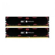 MODULO MEMORIA RAM DDR4 8GB (2X4GB) PC2400 GOODRAM IRDM NEG
