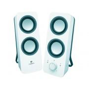 Logitech Altavoces 2.0 LOGITECH Z200 blanco (PC - 10 W - Control de volumen)