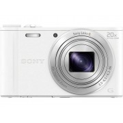 Sony Cyber-Shot DSC-WX350W Digitale camera 18.2 Mpix Zoom optisch: 20 x Wit Full-HD video-opname, WiFi