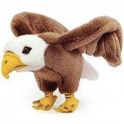 Barnett the Bald Eagle | 10 Inch Realistic Looking Stuffed Animal Plush | By VIAHART