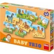 Puzzle in 3 piese - La ferma