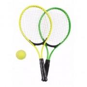 Geen Tennis set groen/geel voor kinderen