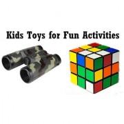 Kids Gaming Combo 1 Pcs Binocular + 1 Magic cube CODEil-5000