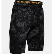 Under Armour Boys' Project Rock Terry Shorts Black YSM