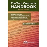 The Tech Contracts Handbook: Cloud Computing Agreements, Software Licenses, and Other It Contracts for Lawyers and Businesspeople, Paperback/David W. Tollen
