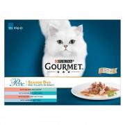 Gourmet Perle 12 x 85 g - Delicado Duo de carne