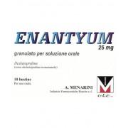 A.Menarini Ind.Farm.Riun.Srl Menarini Enantyum 25mg Granulato Per Soluzione Orale 10 Bustine