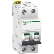ACTI9 iC60L kismegszakító, 2P, B, 3A, monokonnekt A9F93203 - Schneider Electric