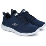 Skechers QUANTUM-FLEX- ROOD Running Shoes For Men(Navy)