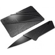 Premsons Creditcard Folding Pocket Safety Knife Multi-utility Knife(Black)