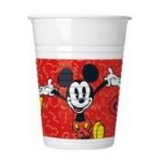Disney Mickey parti pohár (8 db-os)