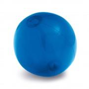 Minge de plaja gonflabila, translucida, Everestus, EGB035, pvc, albastru